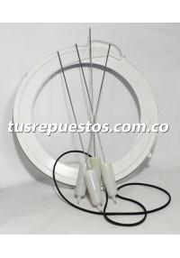 Kit de suspensión para lavadora mabe de torre Ref WW01A06713